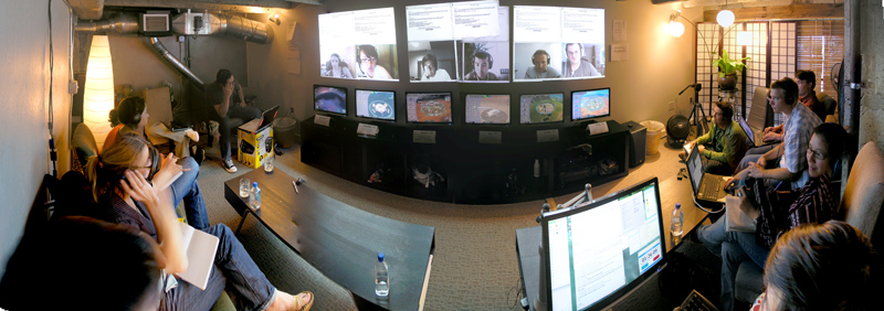 b|p gaming observation room