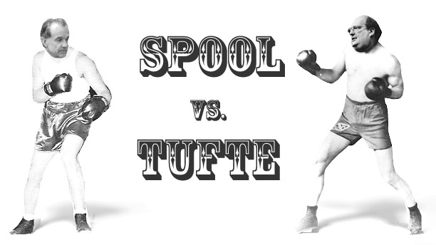 Spool vs Tufte: Giving Great Talks.